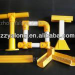 weather resistant Fiberglass handrail for outdoor steps, round or square tube