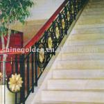 WH194E 2013 Interior Decorative Wrought Iron Stair Railings