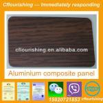 wood decoration aluminum composite panel