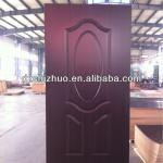 wood veneer door skin price/paint color door panel