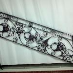 wooden rail interior classical wrought iron stair railings