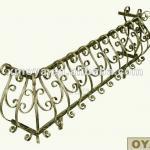 Wrought iron balcony railing designs