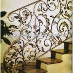 Wrought Iron Railings for Indoor Stairs / Iron Stair Handrail