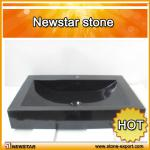 Newstar black granite vanity sink-sink