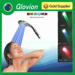 Hot Multi-color led light shower color changing shower head automatic shower head-LS-01